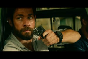 John Krasinski wearing G-Shock in 13 Hours: The Secret Soldiers of Benghazi