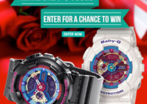 Baby-G Valetine's Day Sweepstakes