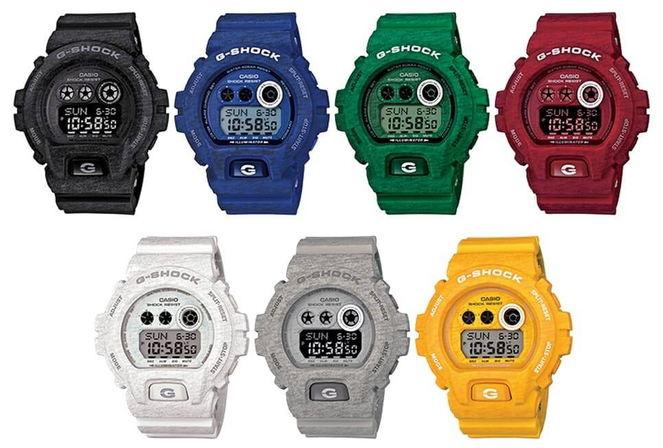 G shock часы производитель