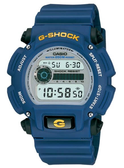 G-Shock DW9052-2: Cheap Blue G-Shock