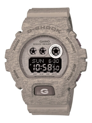 GDX6900HT-8 G-Shock Heathered Series Grey
