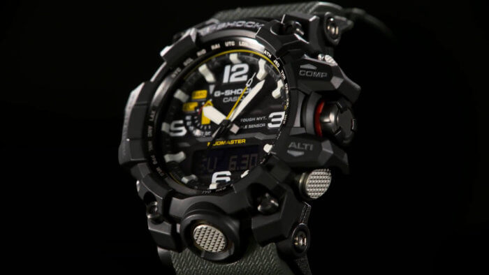 G-Shock GWG-1000-1A3 Mudmaster Angle 2