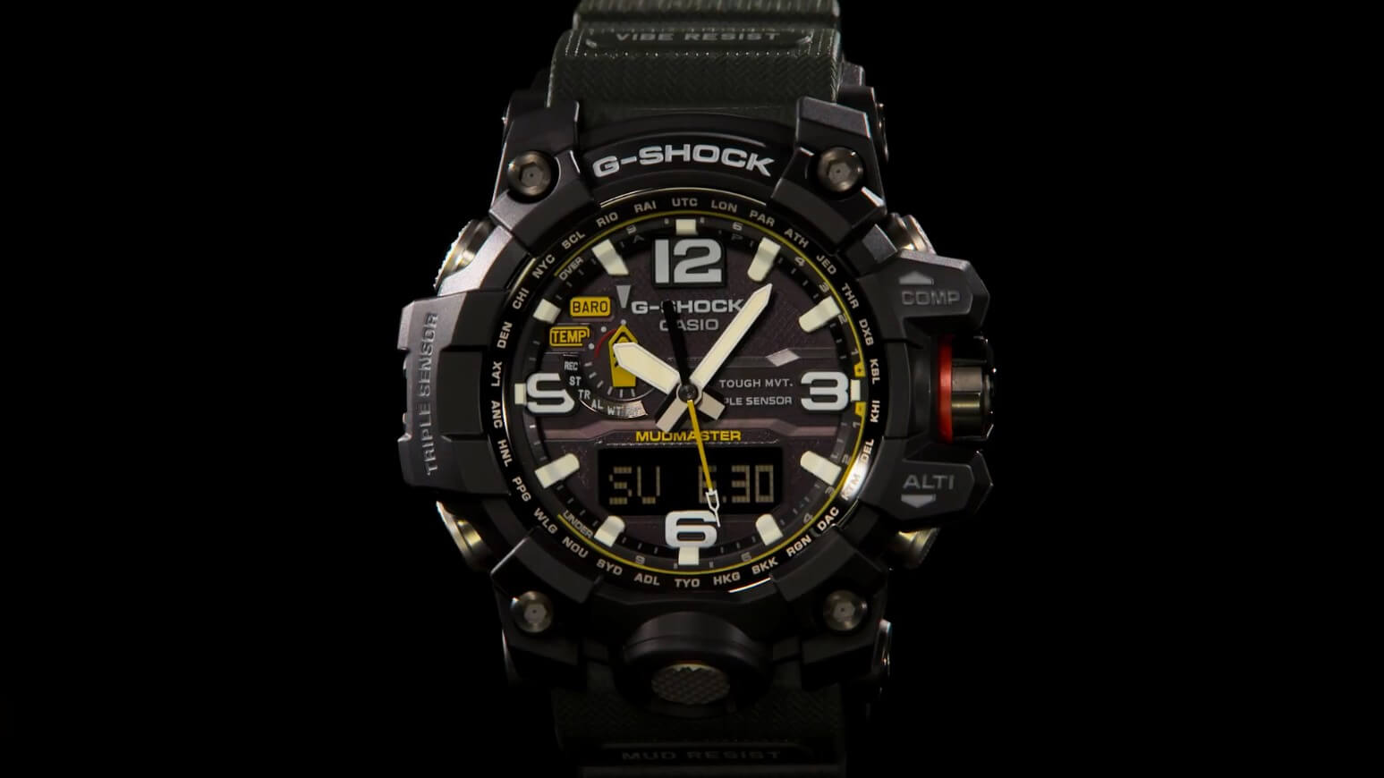 158d786c9c Casio G-Shock Mudmaster GWG-1000 All Models Released – G-Central G ...