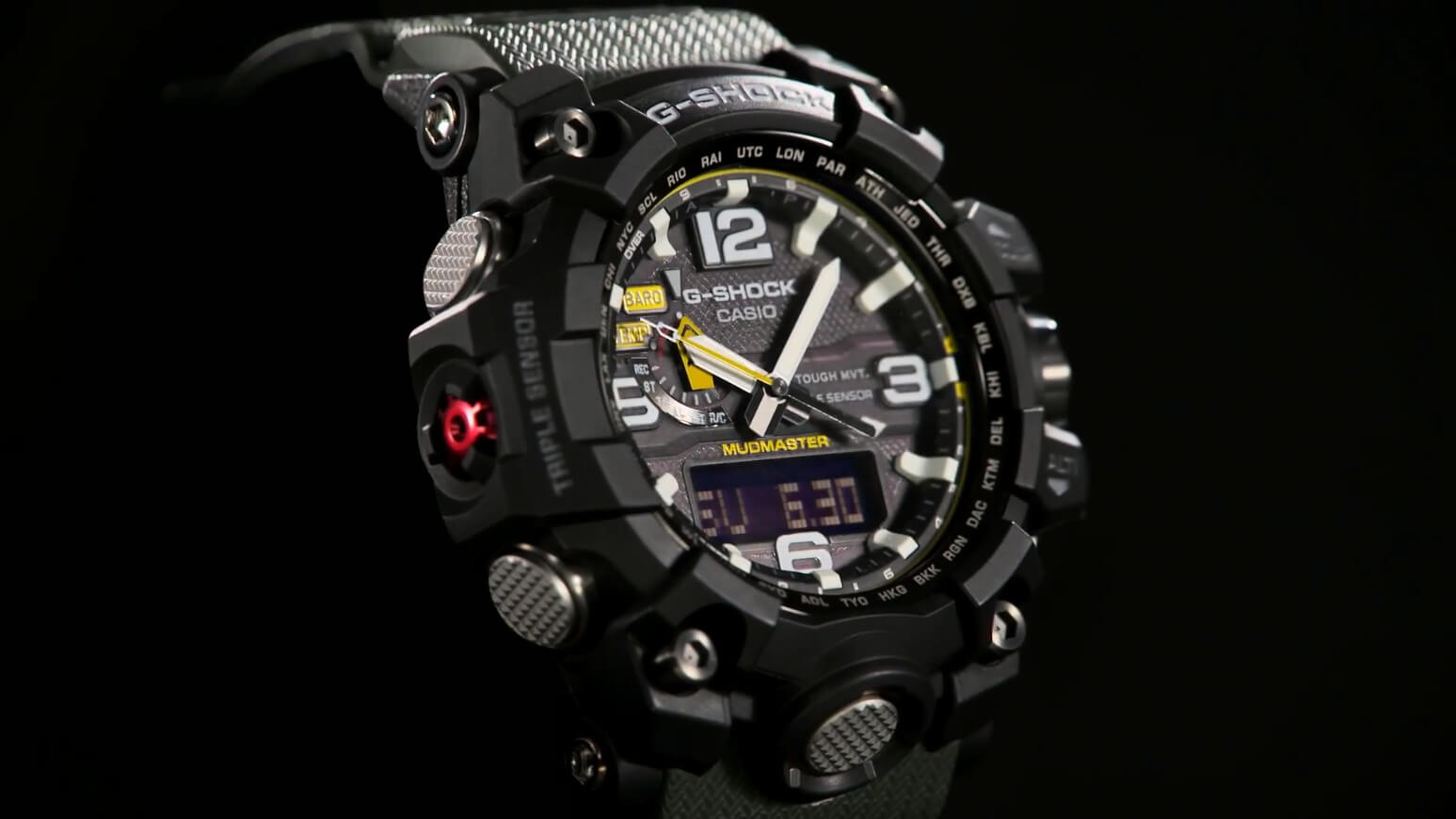 Casio G Shock Mudmaster Gwg 1000 All Models Released Central Gg 1a 1a3