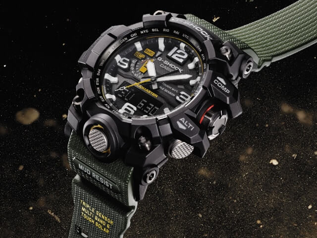 Casio G-Shock GWG-1000 Mudmaster Watch
