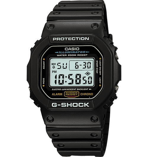 G-Shock DW5600E-1V: Affordable Origin Tribute G-Shock