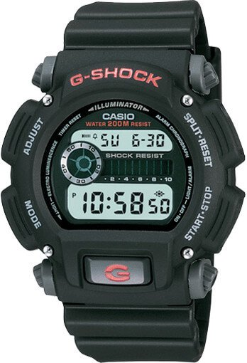 G-Shock DW9052-1V Affordable Digital Military Watch