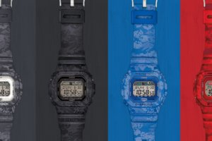 G-Shock G-LIDE GLX-5600F Floral Series