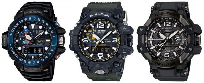 G-Shock Master of G Analog Watches