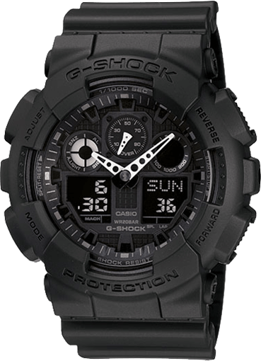G-Shock GA100-1A1 Large Analog-Digital Watch