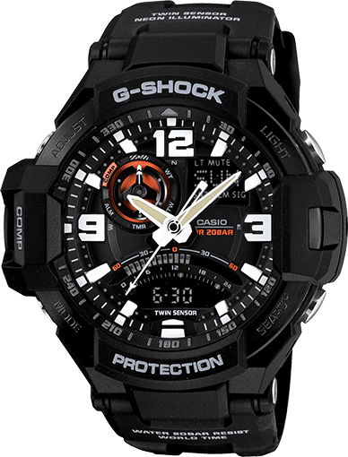 G-Shock GA1000-1A Aviation Watch