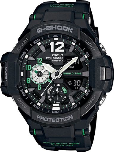G-Shock GA1100-1A3 Aviation