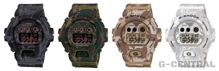 GD-X6900MC Camouflage Series D