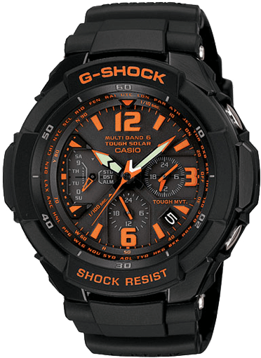 G-Shock GW-3000 Aviation Watch