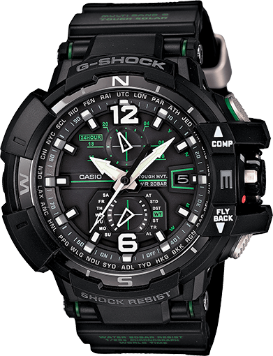 G-Shock GWA1100-1A3 Aviation Watch