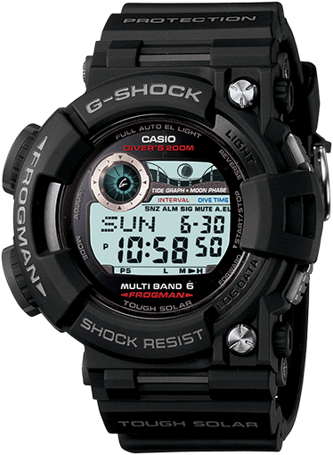 G-Shock GWF1000-1 Frogman Watch