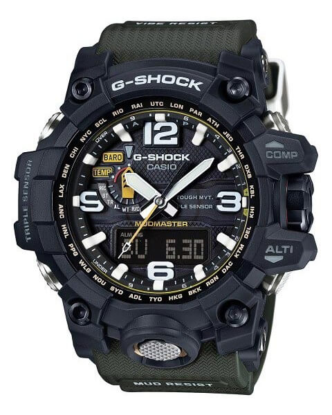 All casio g shock watches with compass sensor for Watches with compass