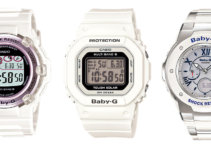 Baby-G BGR-3003, BGD-5000, MSG-3200C solar watches
