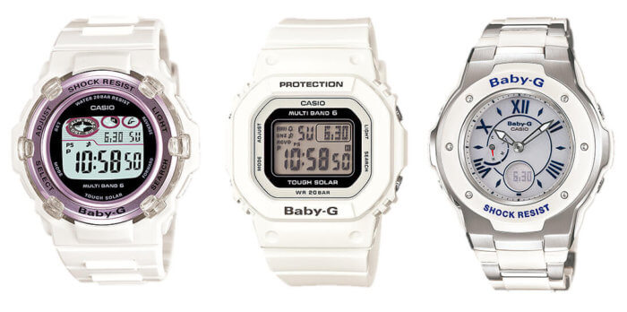 Baby-G Tough Solar Multi-Band 6 watches