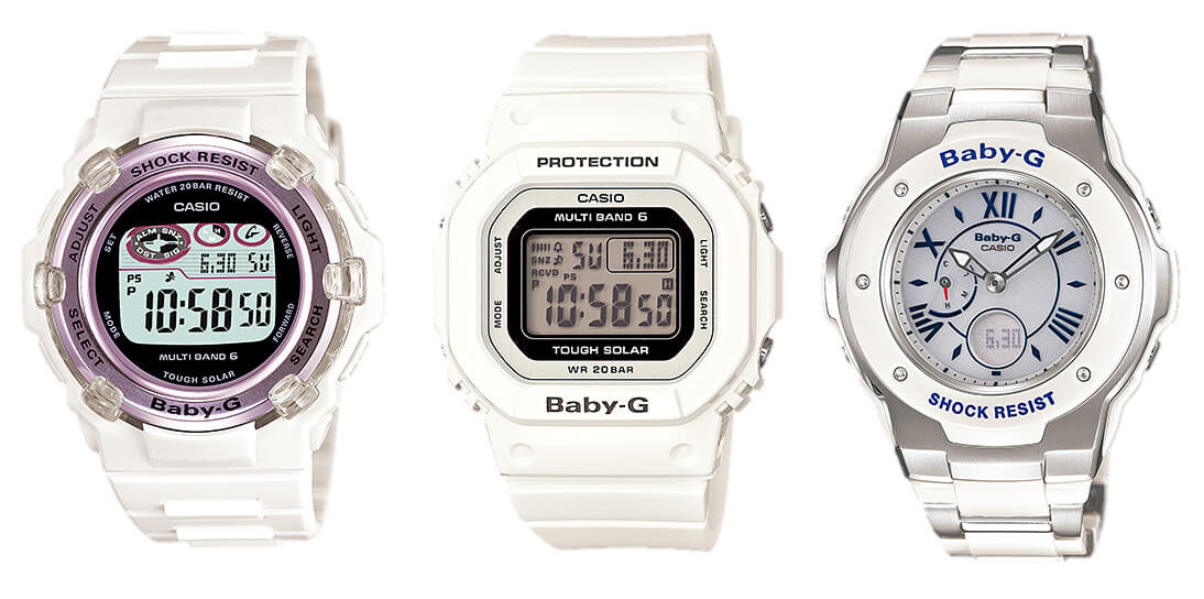 5757cca9fc36f Tough Solar Baby-G Watches with Multi-Band 6 – G-Central G-Shock ...