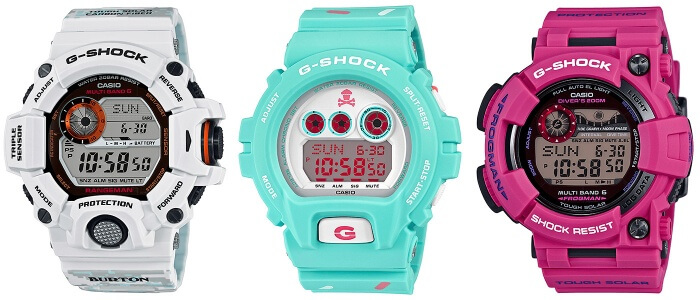 G-Shock Limited Edition Watches