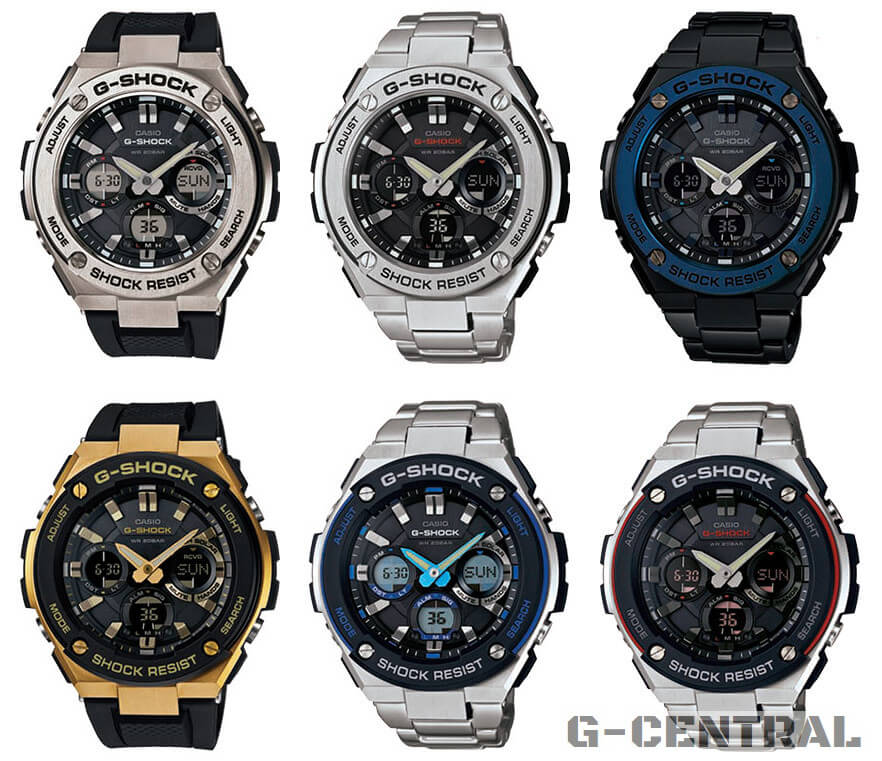 6dda8fbd55f G-Shock G-STEEL GST-S100 and GST-S110  All Models – G-Central G ...