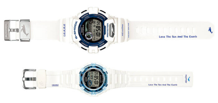 Love The Sea and The Earth ICERC G-Shock and Baby-G Watches