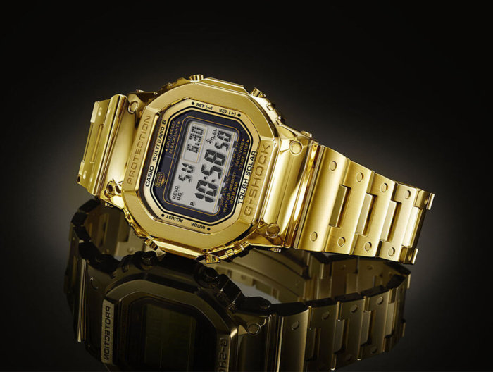 Pure Gold Dream Project G-Shock