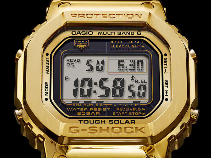 Pure Gold G-Shock Face