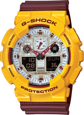 GA100CS-9A Washington Redkins and USC Wrist Watch