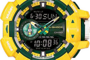 New Crazy Color G-Shock watches with NFL team colors