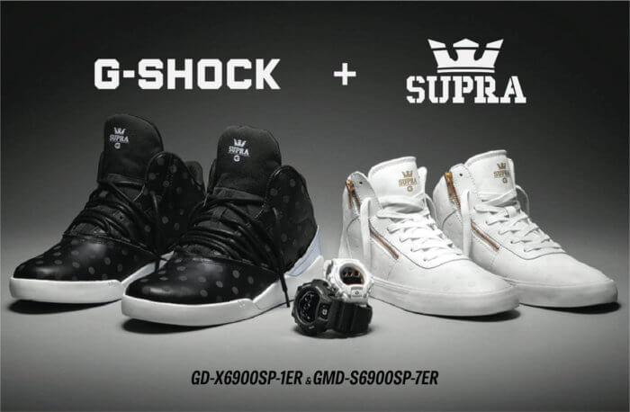 GMDS6900SP-7 G-shock X Supra Shoes