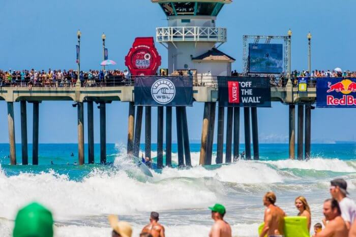g-shock at us open of surfing