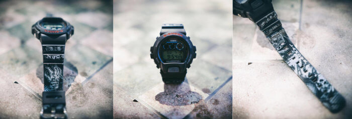 G-Shock x L'Amour DW6900-1VLS 20th anniversary collaboration watch