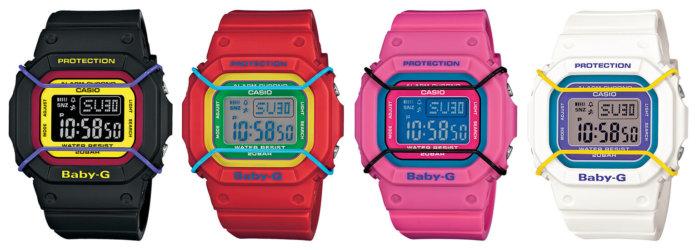 Baby-G BGD501-1B BGD501-4B BGD501-4 BGD501-7B