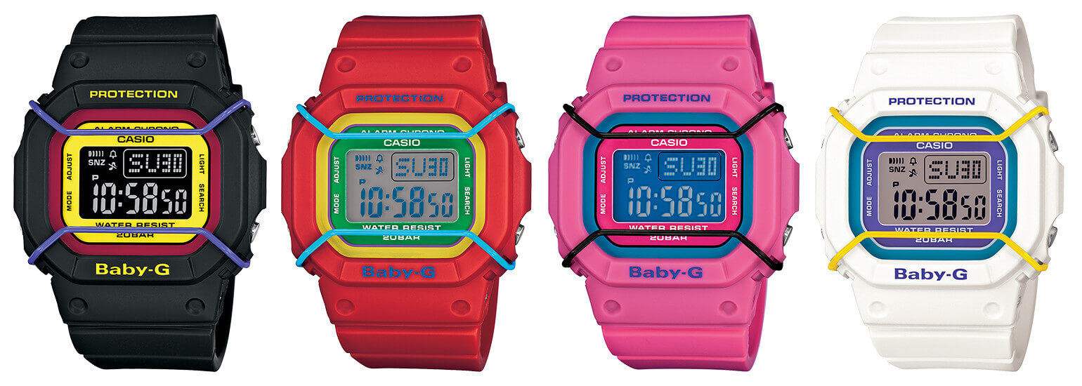 Baby-G BGD501 collection – G-Central G-Shock Watch Blog
