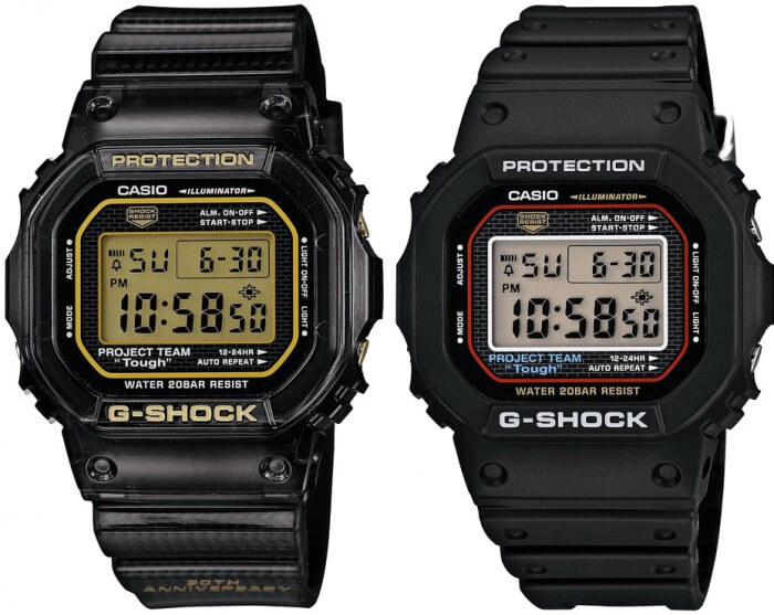 GSET-30-1 G-Shock Box Set DW-5030D-1 and DW-5030-1