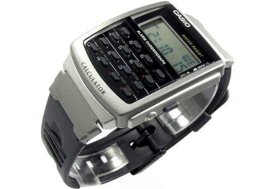 Casio CA-56-1 50M WR Calculator Watch