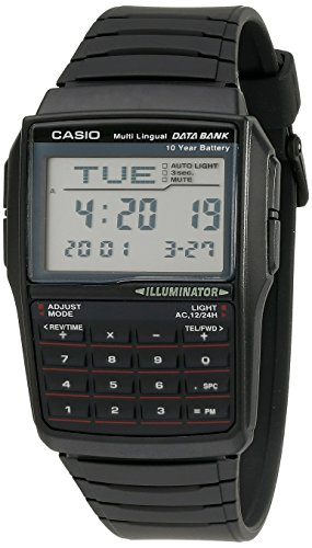Casio Databank DBC-32 Calculator Watch with Resin Band