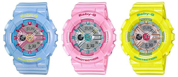 Baby-G BA-110CA-2A BA-110CA-4A BA-110CA-9A