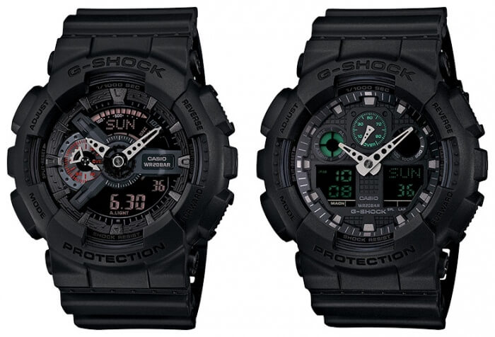G-SHOCK Police Magazine Reader Choice Awards: GA110MB-1A GA100MB-1A