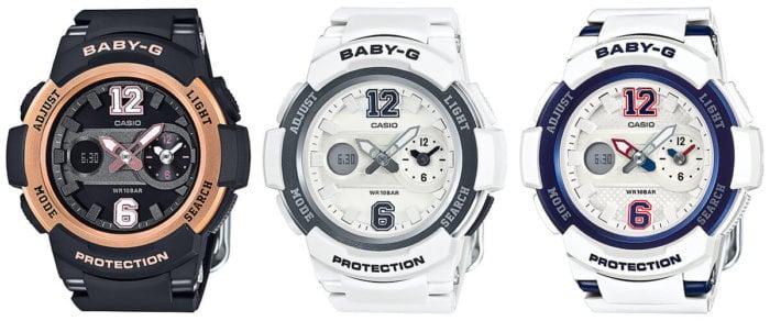 Baby-G BGA-210-1B BGA-210-7B1 BGA-210-7B2