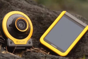 Casio Exilim EX-FR100 Outdoor Action and Selfie Camera