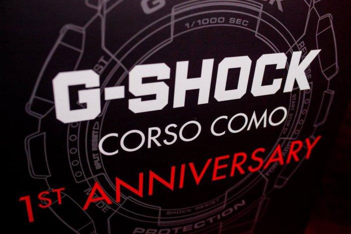 G-Shock Corso Como 1st Anniversary