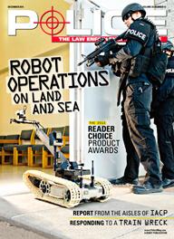 G-Shock Police Magazine