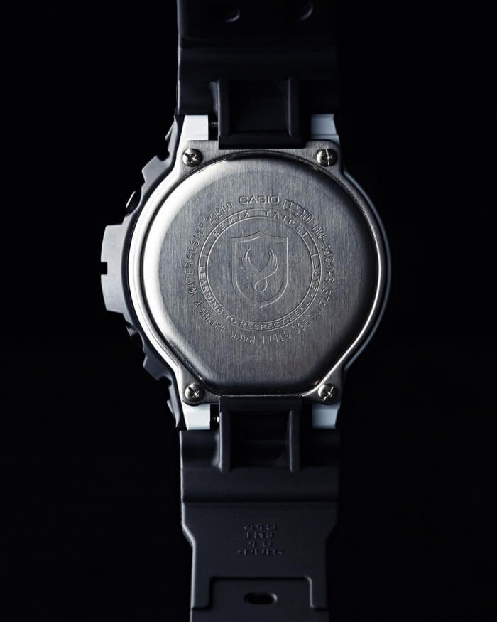 Remix Taipei x Usugrow x G-Shock Engraved Case Back