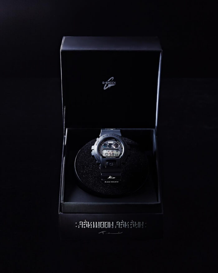 Remix Taipei x Usugrow x G-Shock Watch in Box