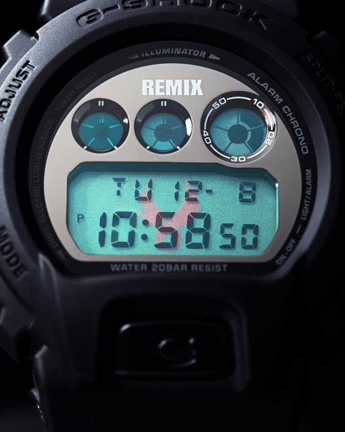 Remix Taipei x USUGROW x G-Shock DW-6900RMUS-1 Watch