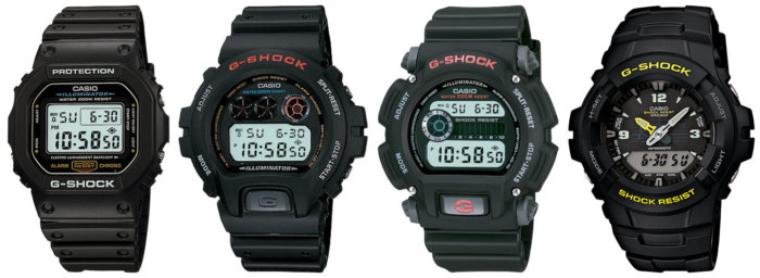 Basic G-Shock Watches