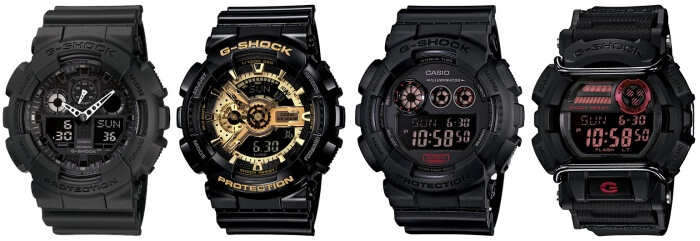 Big Case G-Shock Watches